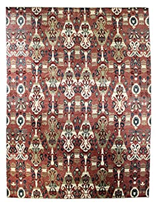 Bashian Rugs One-of-a-Kind Hand Knotted Manali Rug, Rust, 9' 1