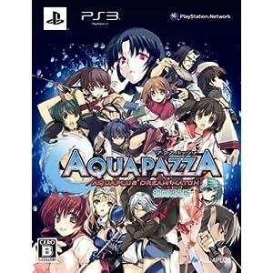 AQUAPAZZA -AQUAPLUS DREAM MATCH- (初回限定版)予約特典『AQUAPAZZA』特製A4クリアファイル&アマゾンオリジナルA4クリアファイル付き