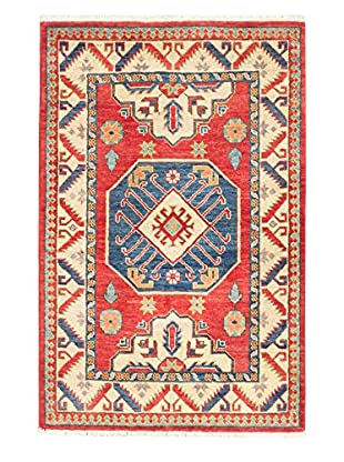 eCarpet Gallery One-of-a-Kind Hand-Knotted Gazni Rug, Red, 3' 3