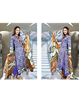 Pakistani 100% Cotton Lawn suit