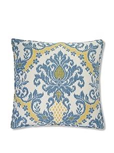 "Jiti Ikat 26"" x 26"" Pillow (Blue)"