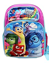 """Disney Girl's Inside Out Large 16"""" inches Backpack - Licensed - BRAND NEW"""