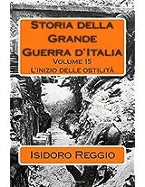 Storia Della Grande Guerra D'italia: L'inizio Delle Ostilità: 15