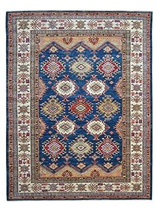 Kalaty One-of-a-Kind Kazak Rug, Blue, 5' 7