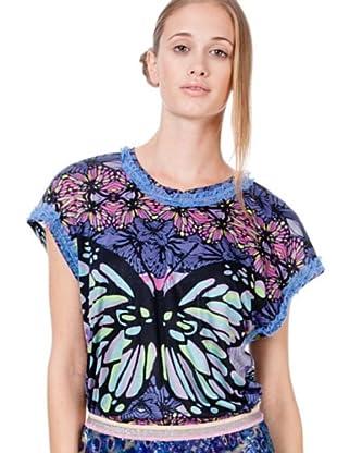 Custo Camiseta Genney Ilusion (Azul)