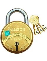 RAMSON COMMANDER 7 Levers Brass Lock 65mm with 3 Keys