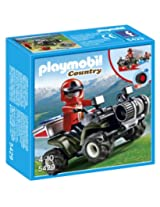 Playmobil Mountain Rescue Quad, Multi Color