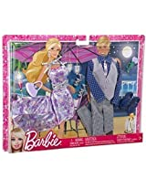 Mattel Barbie Fashionistas Outfit Collection - Barbie And Ken Date Night (Purple)