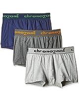 Chromozome Men's Cotton Boxer (Pack of 3)
