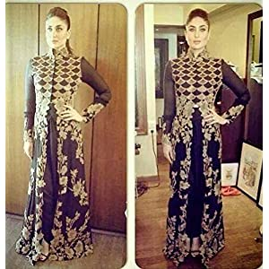 Kareena Kapoor Dress Material, Green