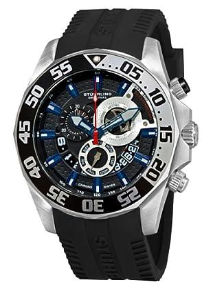 STÜRLING ORIGINAL 287A.331681 - Reloj de Caballero movimiento de cuarzo con correa de silicona