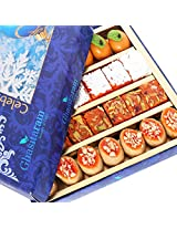 Ghasitarams Gifts Assorted Sweets Box (800 gms)