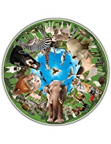 Round Table Puzzle - Animal Arena (500 Piece)