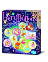 4M Glow in The Dark Fairy Buttons Kit