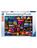 Around The World Jigsaw Puzzle, 3000-Piece