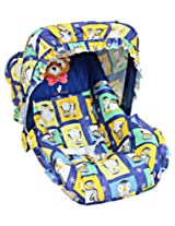 1st Step - Carry Cot Blue N Yellow
