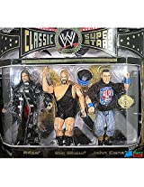 Wwe Champion Series Classic Super Stars Limited Edition 3 Pack Figures Edge, Big Show, John Cena