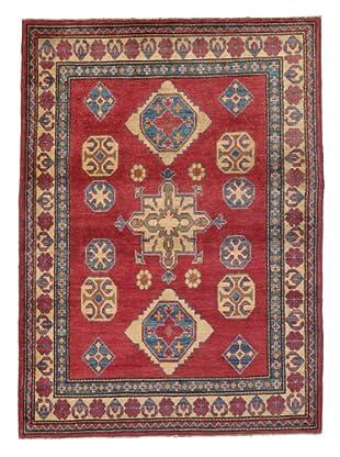 Rug Republic One Of A Kind Pakistani Kazak Rug, Red/Blue/Antique Ivory/Multi, 3' 9