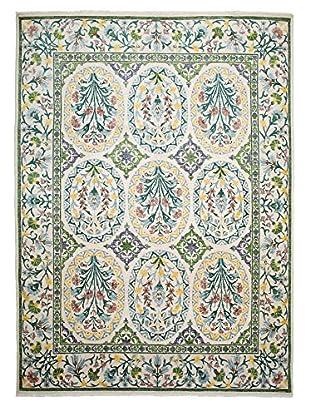 Darya Rugs Suzani Oriental Rug, Ivory, 8' 1