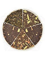 Assorted Chai Teas - 5 Finest Collection of Chai Teas- 25 Servings - 1.76oz 50gm - Perfect Tea Sampler Gift Set