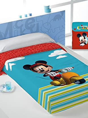 Disney Home Copriletto Mickey Mouse (Multicolore)