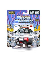 1932 Ford Roadster (Aces High) * The Original Muscle Machines * Series 13 Maisto 1:64 Scale Die-Cast Vehicle Collection