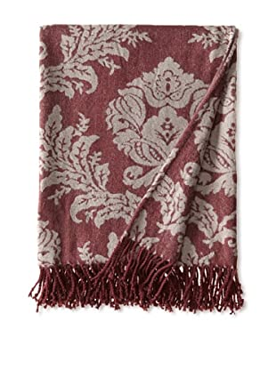 Mélange Home Jacquard Throw (Red)