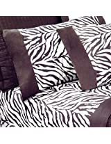 Zebra Pattern Printed Sheet Set, Full
