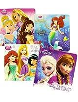 Disney Frozen Princesses Board Books (Set of 4)