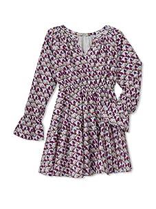 Stun Girl's Montana Dress (Plum/Sky)