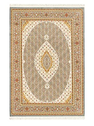 Hand Loomed King David Rug, Gray, 3' 11
