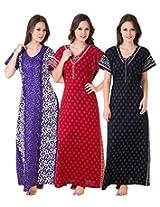 Masha Women's Cotton Nighty