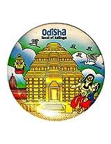 Indiavibes Designer Badge with Odisha 2 Theme