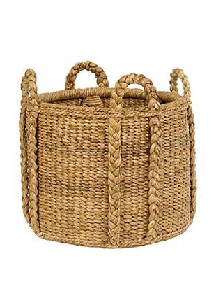 Mainly Baskets Sweater Weave Fireplace Basket