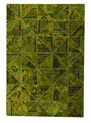 MAT Vintage Tile Rug (Green)