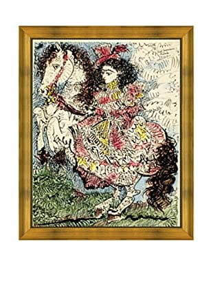 Pablo Picasso: Jacqueline Reine a Cheval