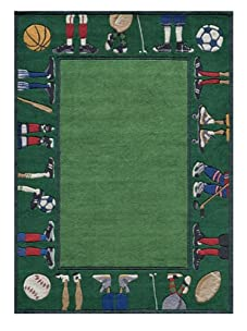 Lil Mo Happy Feet Rug (Grass)