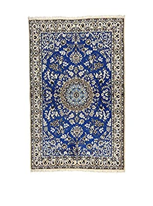 L'Eden del Tappeto Teppich Nain blau/grau 182t x t115 cm