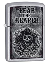 Zippo Samcro Lighter (Satin Chrome)