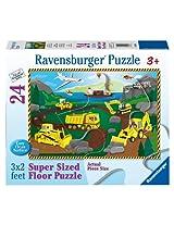 Build by The Sea Floor Puzzle, 24-Piece