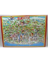 City Of St. Louis Jigsaw Puzzles (The City Character Jigsaw Puzzle Fully Interlocking 504 Tripl Thick Pieces) By Buffalo Games, Inc.