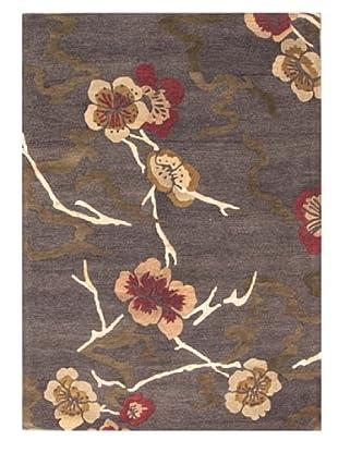 Mili Designs NYC Cherry Blossom Rug, 5' x 8'