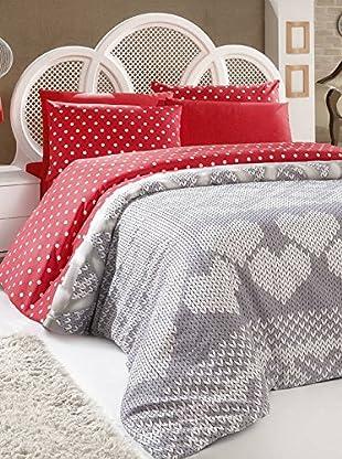 Colors Couture Bettdecke und Kissenbezug Fiyonk