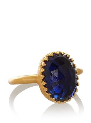 Kevia Rococo Blue Corundum Ring