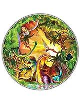 Round Table Puzzle - Kids' Edition - Dinos (50 Piece)