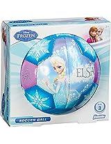 Franklin Sports Disney Frozen Size 3 Soft Foam Air Tech Soccer Ball - Elsa/Anna