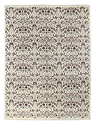 Bashian Rugs One-of-a-Kind Hand Knotted Manali Rug, Ivory, 7' 10