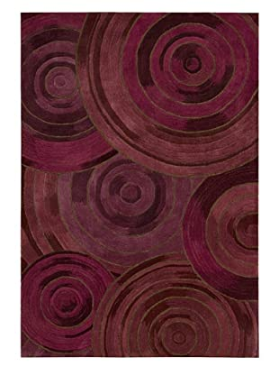 Kathy Ireland Home Ovation Rug (Plum)