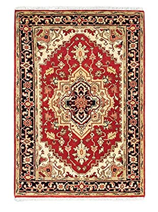 Hand-Knotted Serapi Heritage Rug, Red, 4' 2