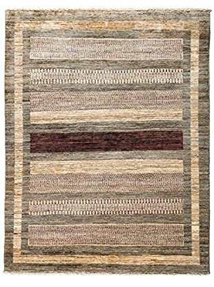 Darya Rugs Traditional Oriental Rug, Brown, 5' x 6' 4